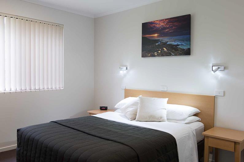 Resort bedrooms